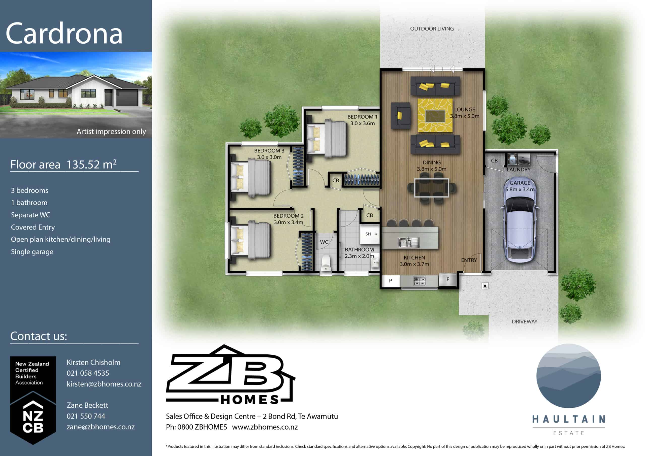 LOT 58 – House & Land Package